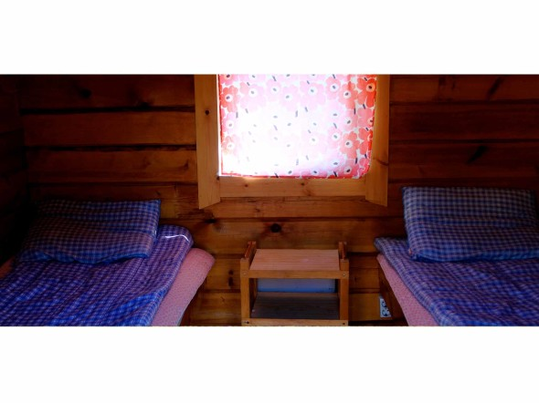 2. Camping Cottage with shared bathroom